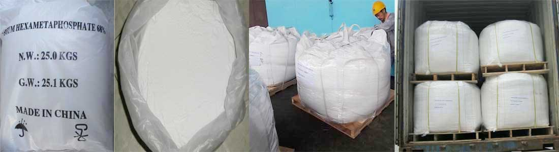 Sodium Hexametaphosphate Package in Chemate